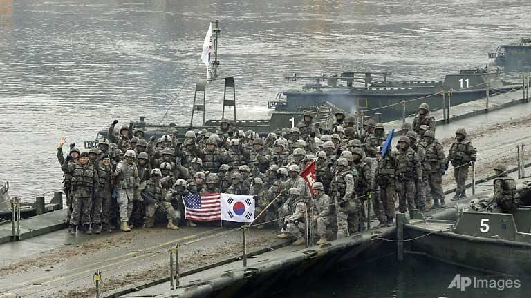 COVID-19 complicates South Korea, US military exercises