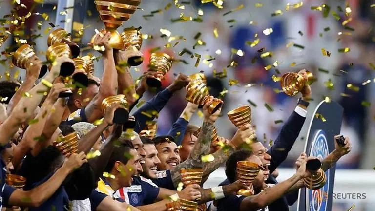 Football: PSG complete domestic treble with League Cup triumph