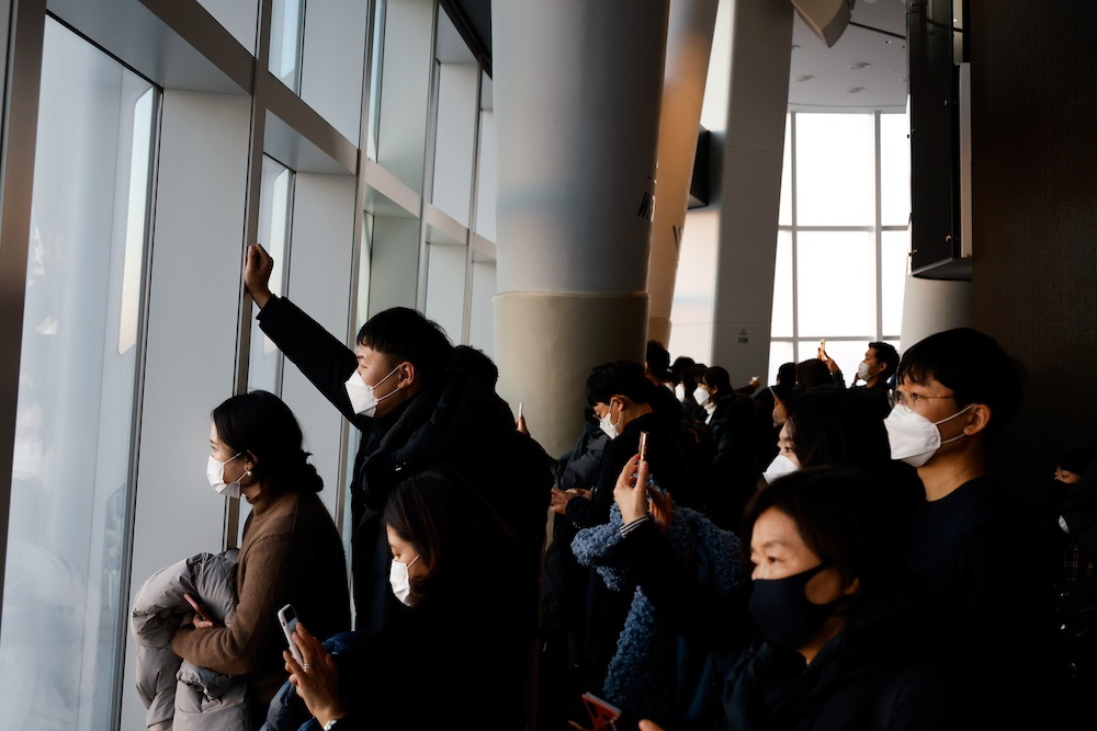 Daily Covid-19 cases top 1,000 as S. Korea marks subdued New Year
