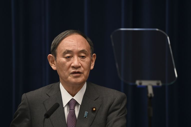 Japanese PM Suga denies reports of dissolving parliament in mid-September